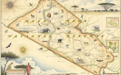 Masai Mara Nat'l Reserve Map