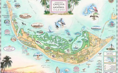 Sanibel Captiva Island Map