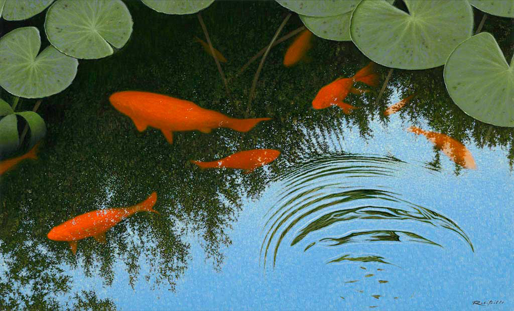 Wildlife Oil Painting Gallery By Chris Robitaille
