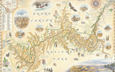 Grand Canyon Nat'l Park Map