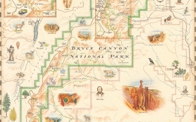 Bryce Canyon Nat'l Park Map